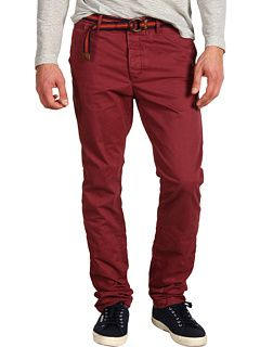Scotch & Soda Jagger Relaxed Slim Fit Twill Chino Pant w/ Belt (via 6pm.com/ShopStyle; $49.99 on sale)