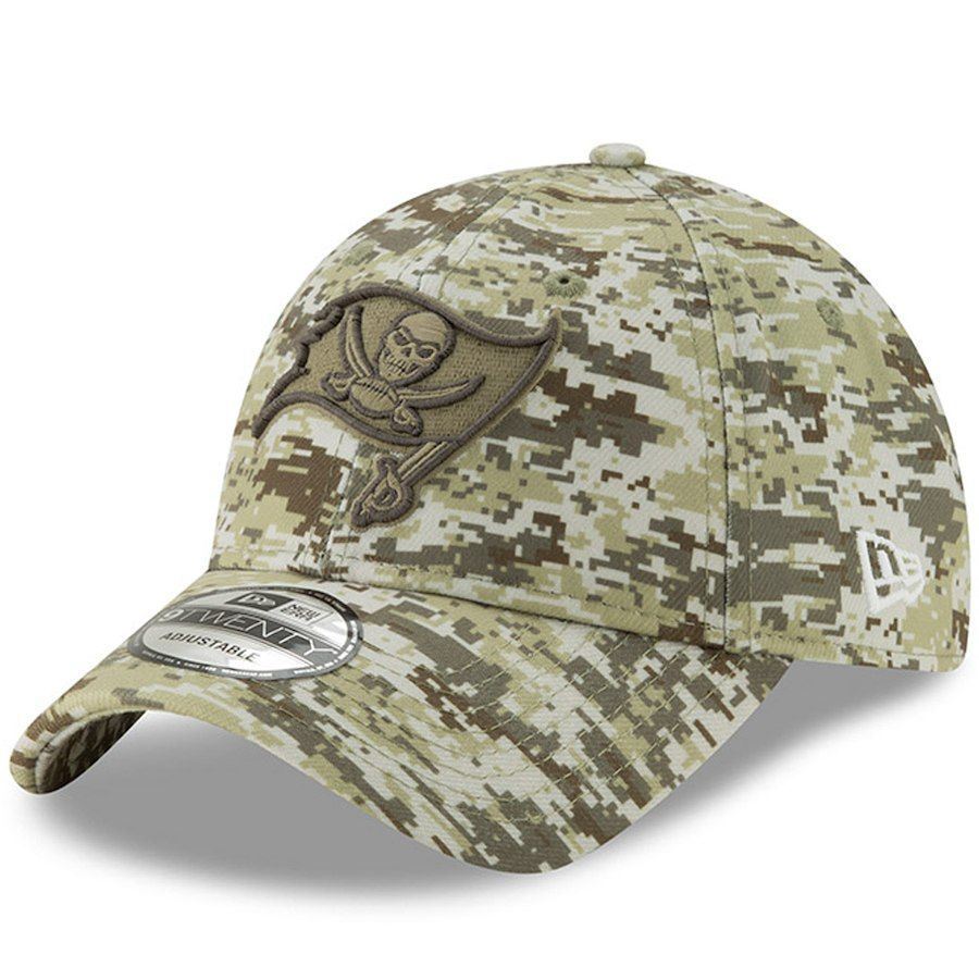 Men s Tampa Bay Buccaneers New Era Camo Digi 9TWENTY Adjustable Hat ... cd4b7dabf93b