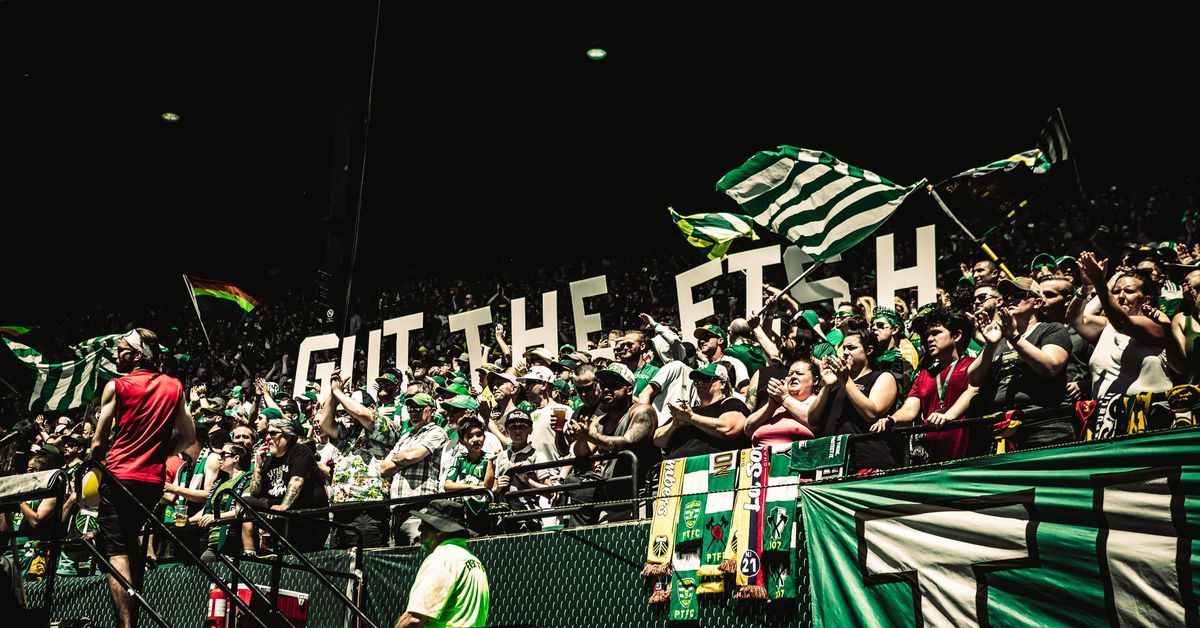 Gallery Portland Timbers vs Seattle Sounders (With images