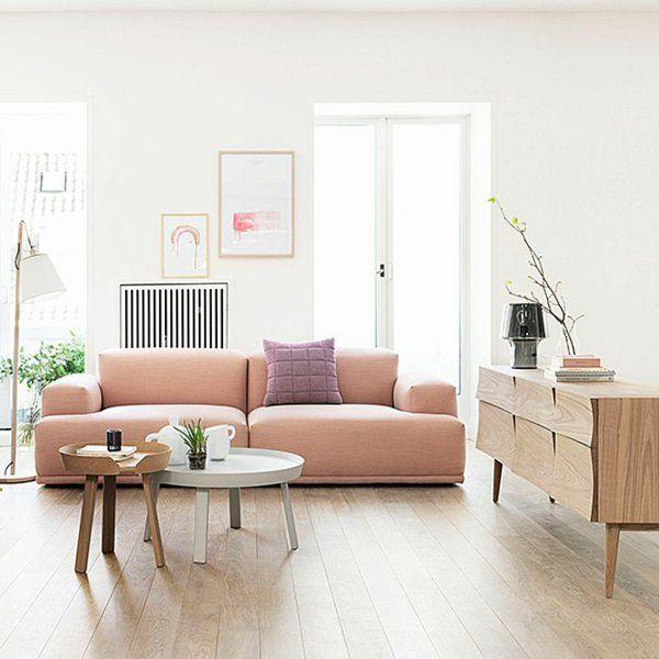 wohnzimmer modern einrichten skandinavisches design | wohnung ... - Dachwohnung Im Skandinavischen Stil