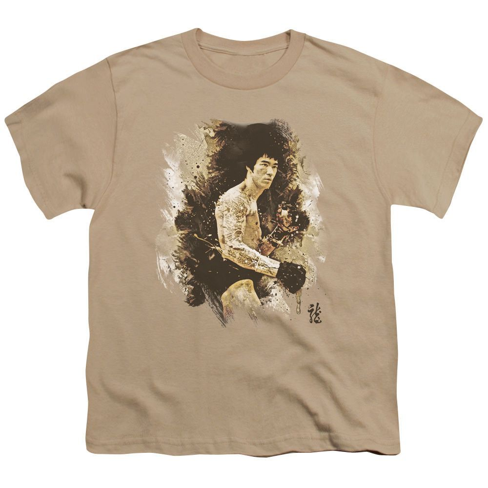 Bruce Lee Intensity Sand Youth T-Shirt