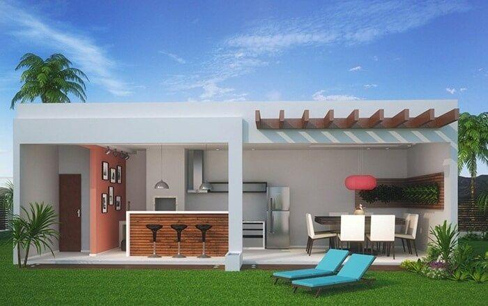 Terraos de casas simples de terrazas y porches de madera for Casas con balcon y terraza