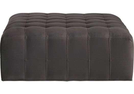 picture of cindy crawford home calvin heights slate cocktail ottoman from cocktail ottomans furniture