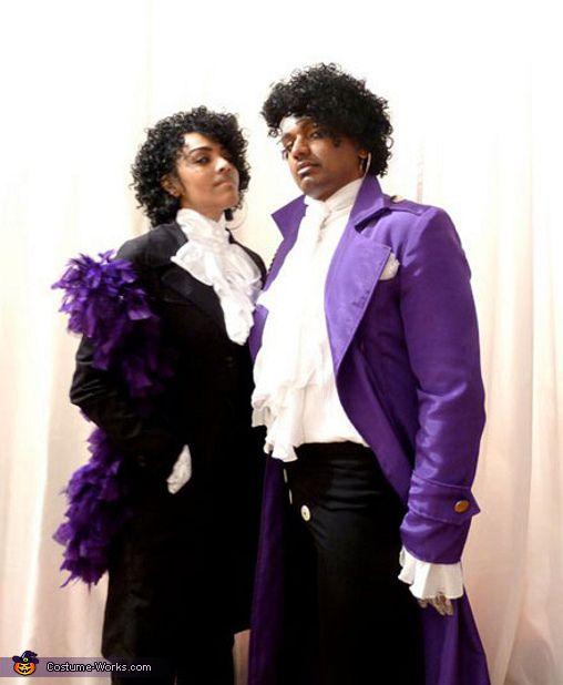 Prince Couple - Halloween Costume Contest via @costumeworks - creative couple halloween costume ideas