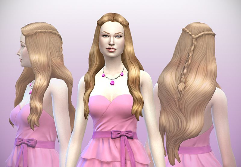 Delco Webney Telltales Game Of Thrones Hairstyle Frau Sims 4 Sims