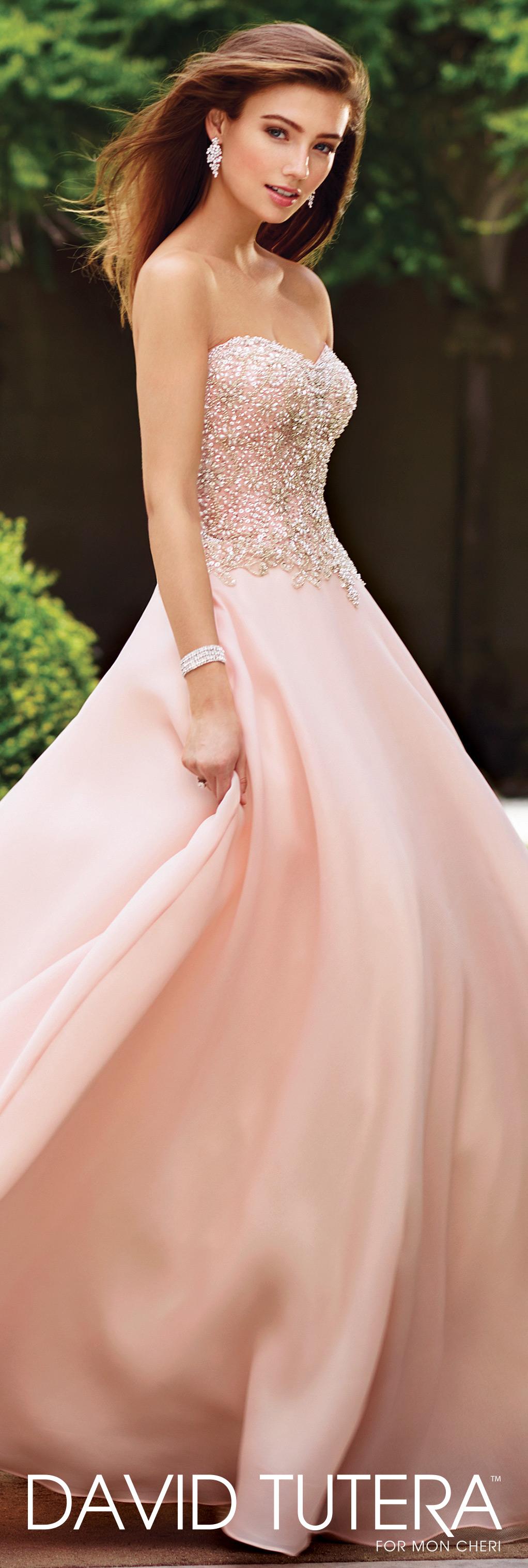Strapless satin beaded ball gown wedding dress adelina