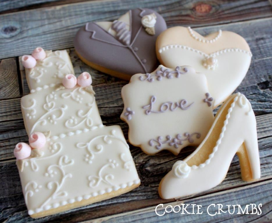 iced wedding cake cookies wedding cookies cookie connection wedding cookies 16245
