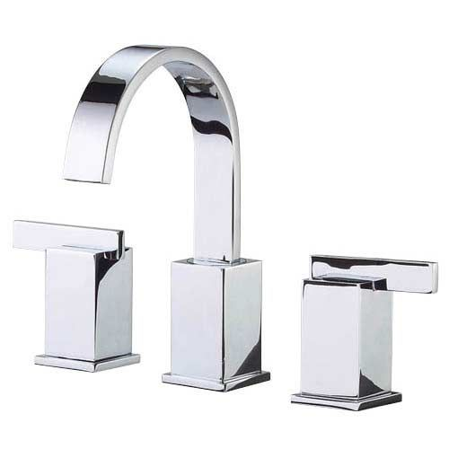 Sirius Chrome Widespread ADA Bathroom Faucet Agave Surgical - Ada bathroom faucet