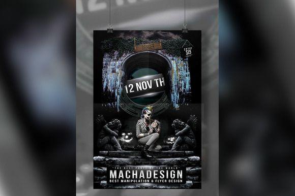 October Fest - Hallowen Flyer by MachaDesign on @creativemarket
