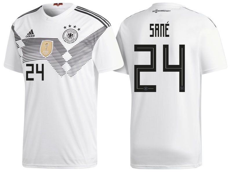 buy online 3dd36 73daa Germany 2018 World Cup Home Jersey leroy sane | 2018 Germany ...
