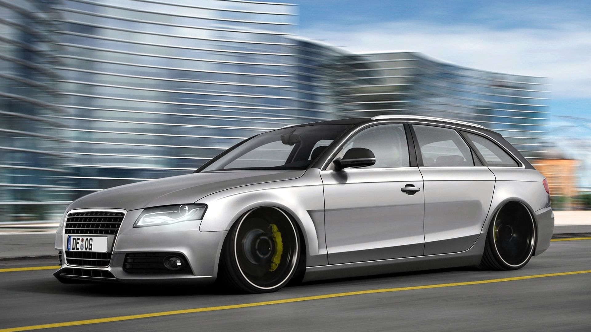 Audi A4 Avant Tuning Low Suspension On Hd Wallpapers From Http Www Hotszots Eu Audi Wallpaperbackgroundsaudi Htm Audi A4 Avant Audi A4 A4 Avant