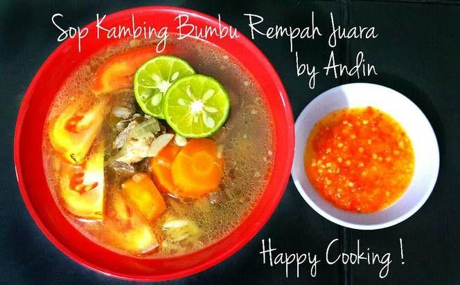 Resep Sop Kambing Bumbu Rempah Juara Oleh Andin S Kitchen Resep Resep Rempah Resep Masakan