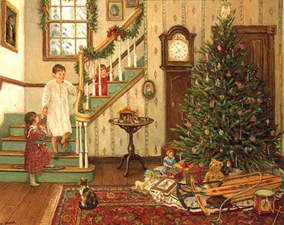 Madeline S Memories Vintage Christmas Cards: Christmas Nostalgia Graphics