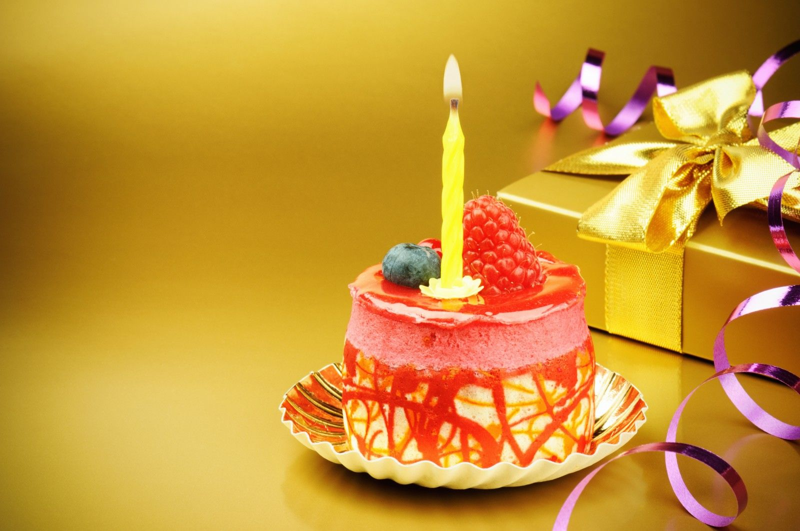 Birthday Cake With Candles  Happy Birthday  Pinterest  Birthday ...