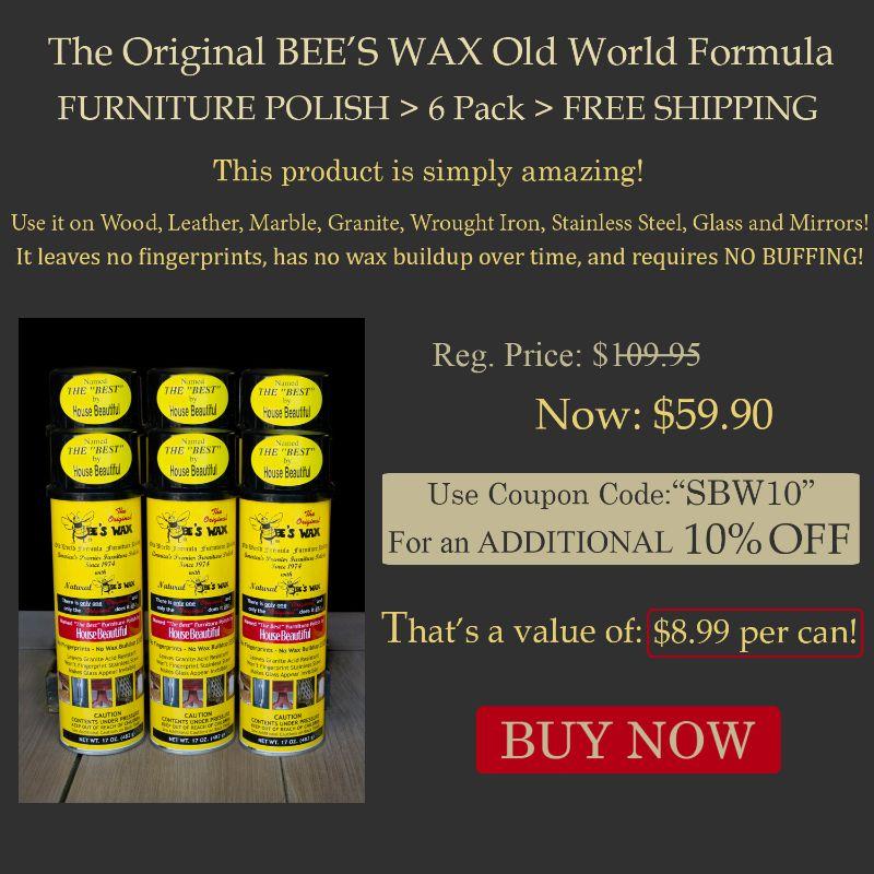 The Original Bee S Wax Old World Formula Furniture Polish