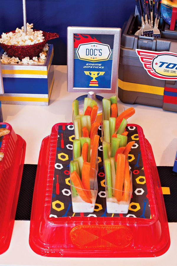 10 Disney Cars Party Food Ideas Isaac S