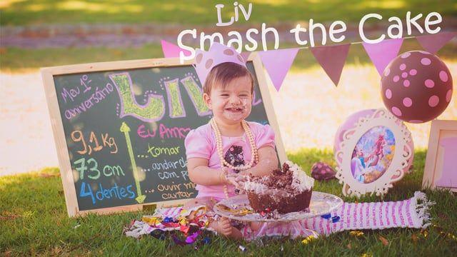 """Making of do ensaio fotográfico """"Smash the Cake"""" da lindeza da LIV"""