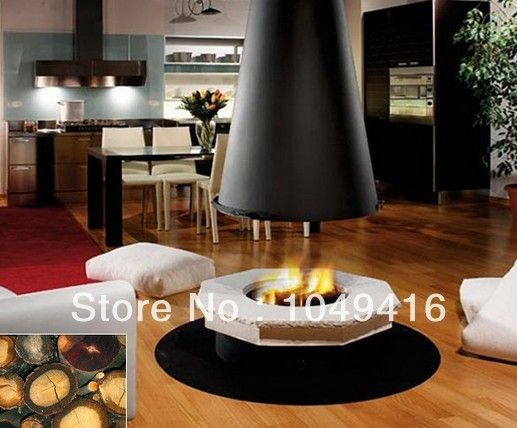 Round Indoor Fireplace round ethanol fireplaces luxury ethanol