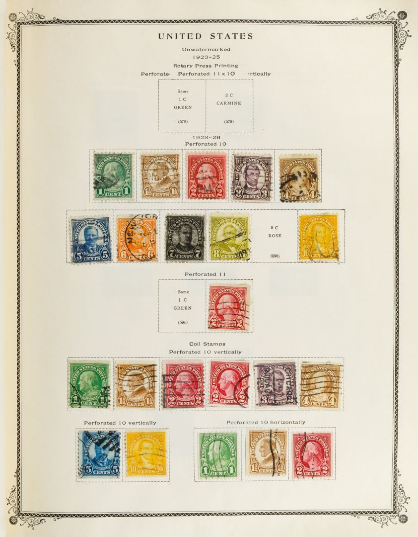 Lot 19: US and World Postage Stamp Assortment