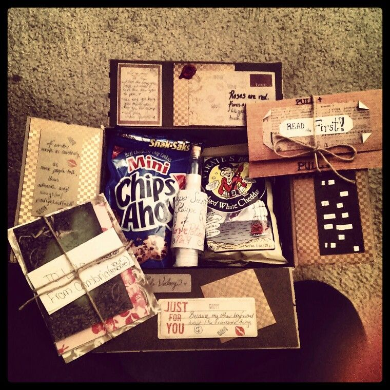Vintage Themed Care Package Im Sending Out Tomorrow Birthday Packages Christmas Presents