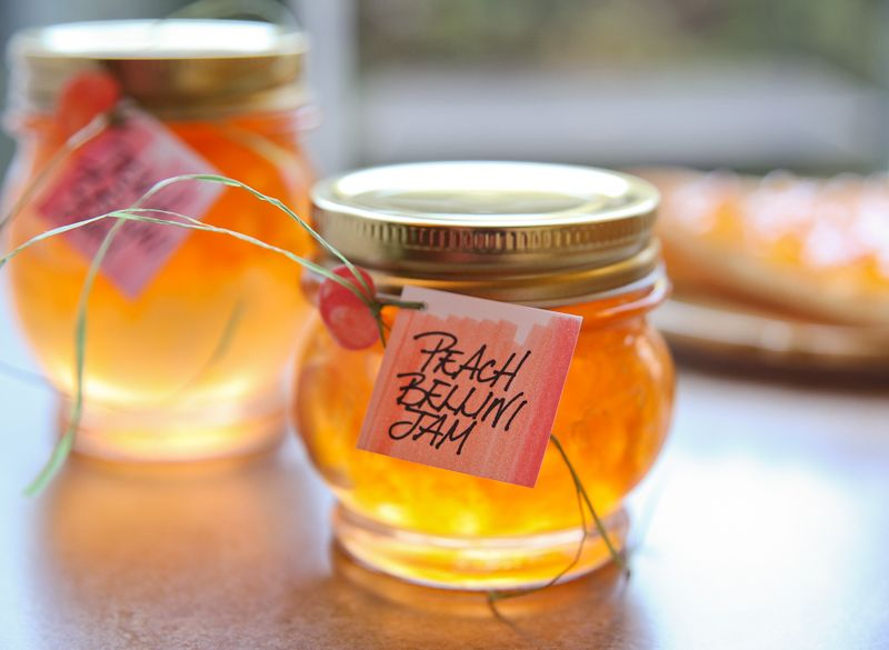 Peach Bellini Jam | The Daily Dish