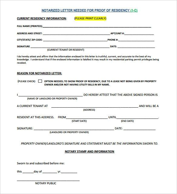 Consent Letter Template For Travel Pdf Format Blank Notarized
