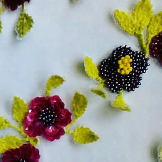 Вкусные вышивки получились.  Сделаю на заказ, пишите или идите по ссылке на моей странице. #embroidery #flowers#beautiful #lunevilleembroidery