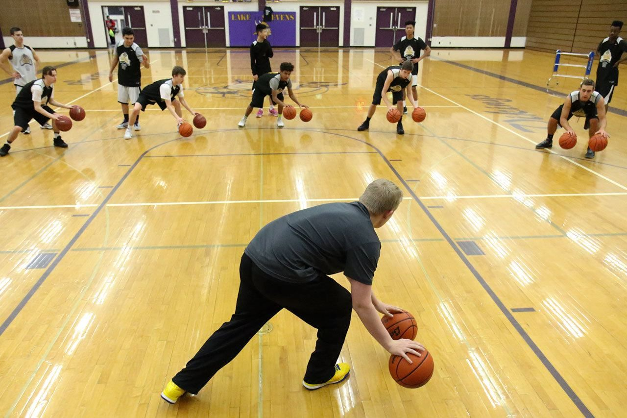 Lake stevens senior gives up roster spot to a coach