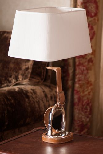 hotels lamp center shade lamplight equestrian horse near