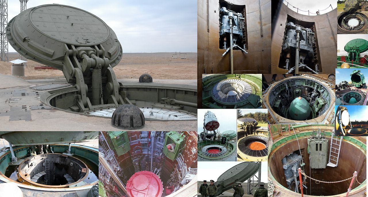 russian missile silos machines engines and tech