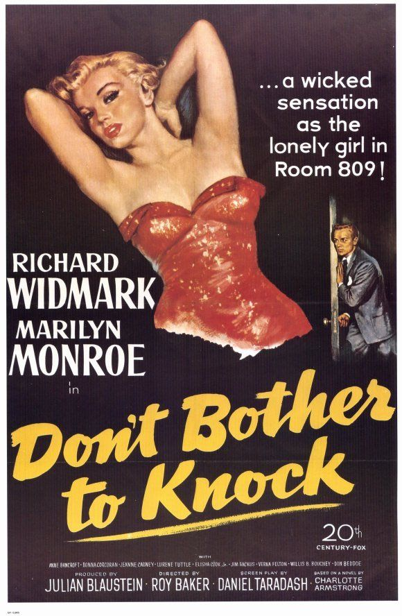 """#38 """"Don't Bother to Knock"""""""