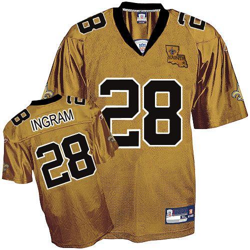 28263396715 Saints  28 Mark Ingram Gold Embroidered NFL Jersey! Only  18.50USD ...