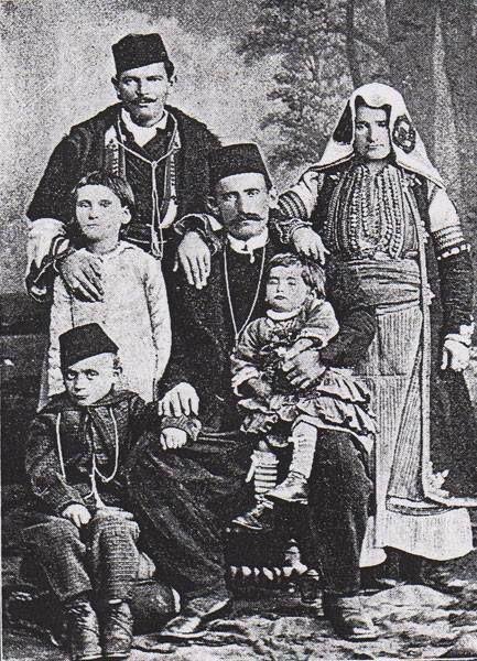Срби из Дебра 1889 године. Serbians from Debar 1889
