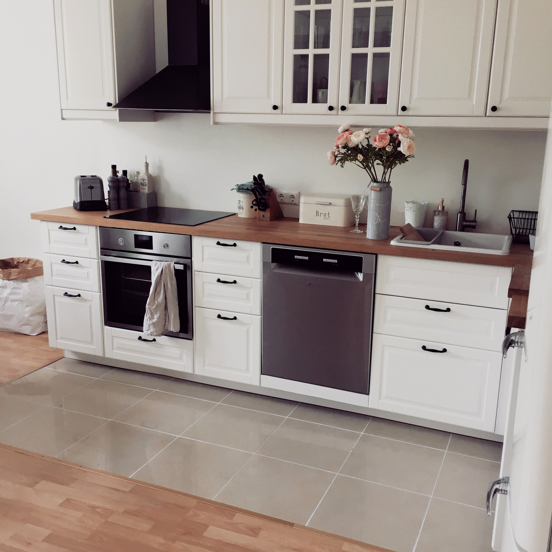 20 Bescheiden Landhausküche Weiö Ikea #whitegalleykitchens