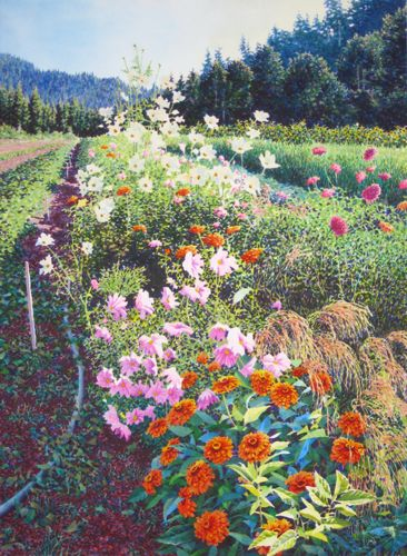 Alan Sanborn Watercolor