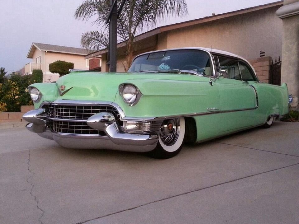 55 Coupe DeVille | Cadillac | Pinterest | Cadillac and Cars