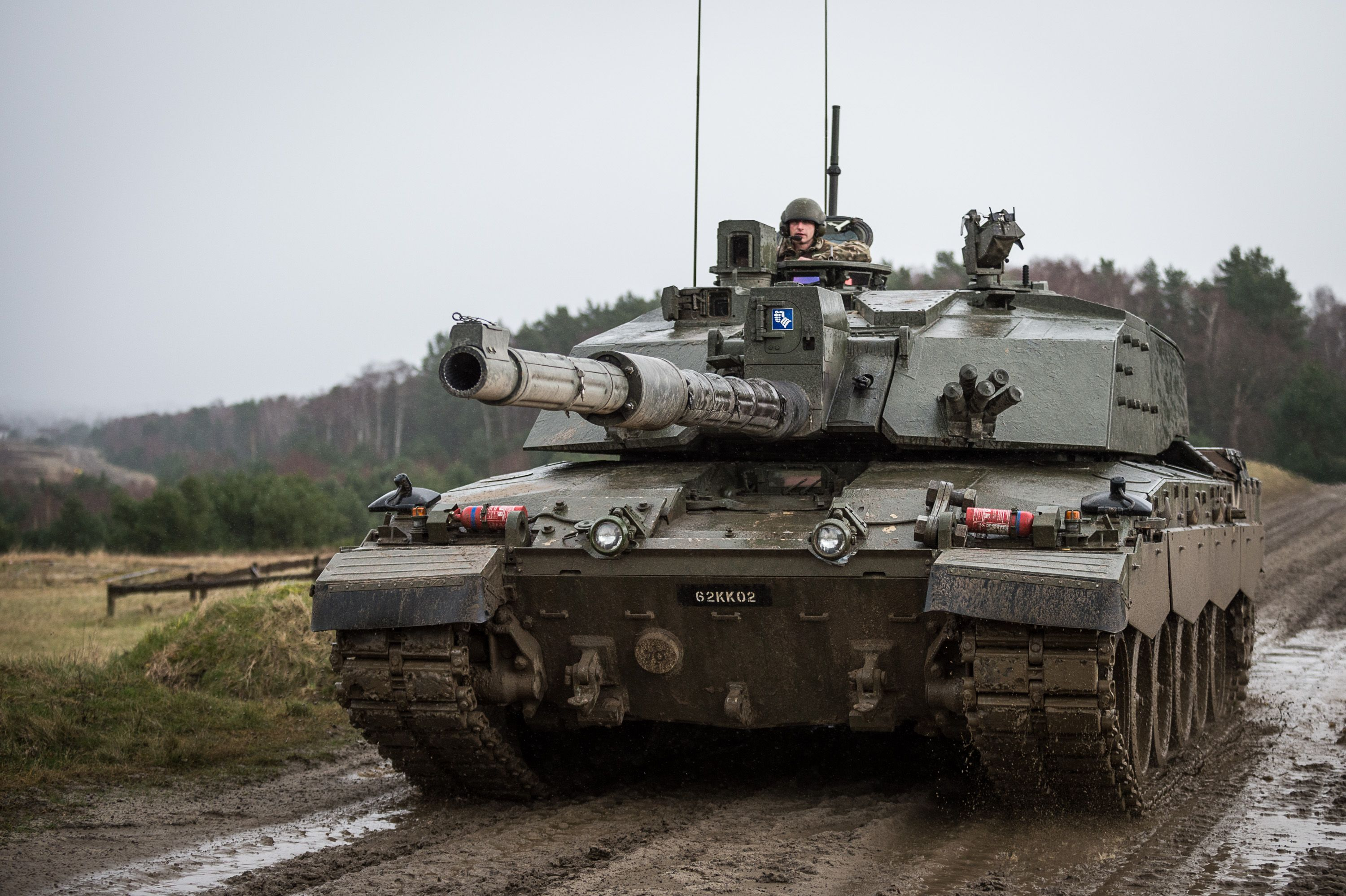 e7ed6e78f4b6 Deploying 3 Sabre Squadrons of Challenger 2 Main Battle Tank (MBT) and the  Command and Recce Squadron from their barracks in Sennelager Exercise ...