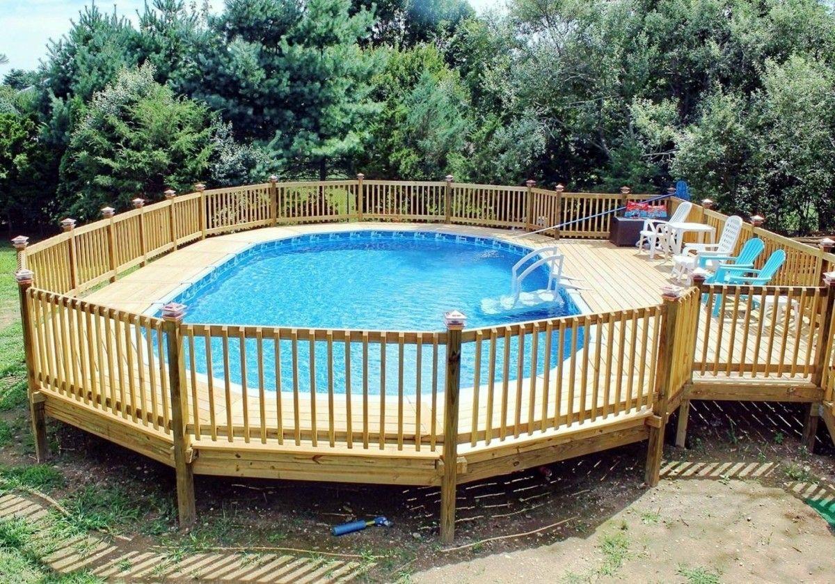 Holzdeck Design Ideen für den Pool 20 20x20   Swimming pool ...