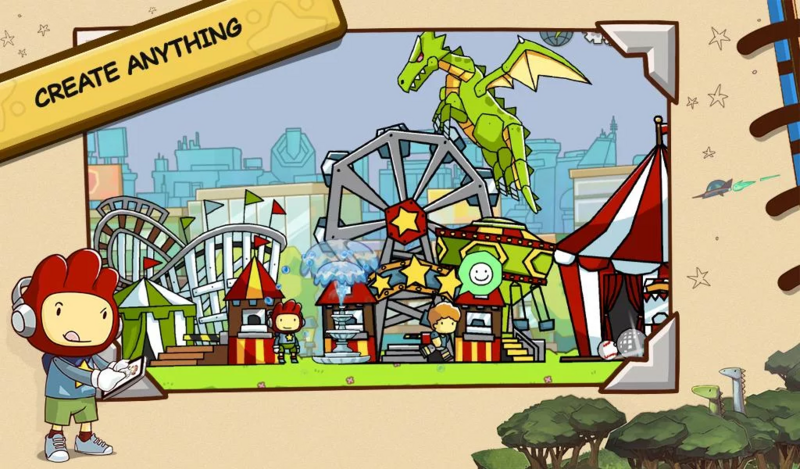 Pin by jose a on Download android games Scribblenauts