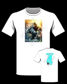 TITANFALL T SHIRT Titanfall Party Favors