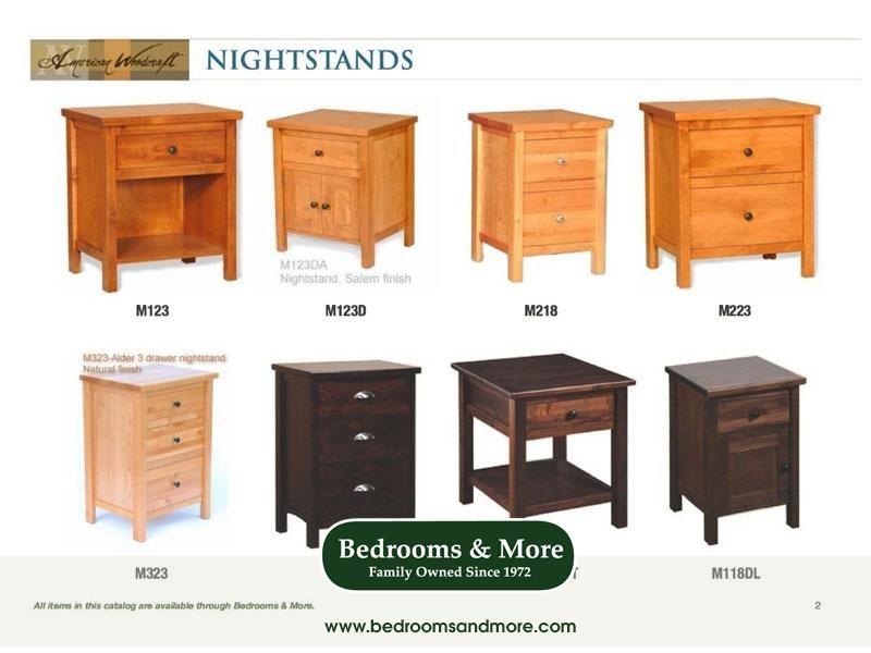 American Woodcraft Nightstand Bedrooms More Seattle Bedroom Night Stands Solid Wood Bedroom Furniture Nightstand