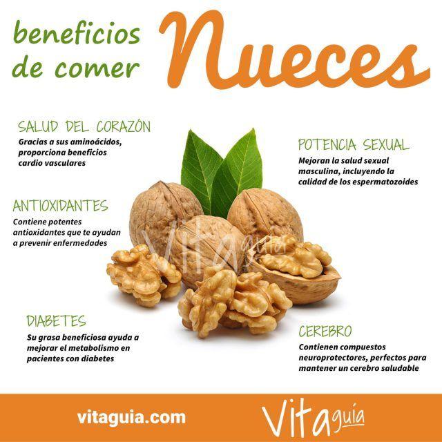 Beneficios Para La Salud De Las Nueces Un Gran Alimento Beneficios De Alimentos Nutrición Frutas Y Verduras Beneficios