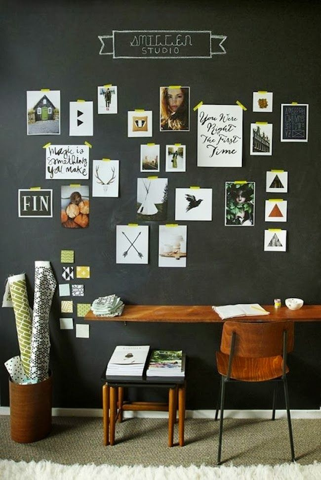 The happy home gallery wall inspiration hanging tips chalkboard walls black also best moods images chart design charts editorial rh pinterest