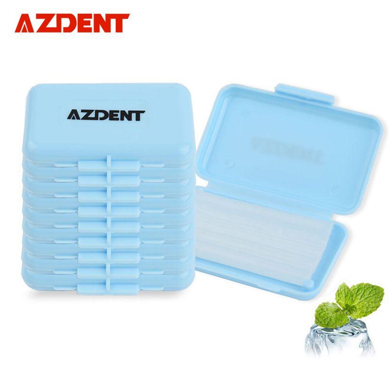 AZDENT Top seller 10 pcslot Oral hygiene Mint Scent Dental