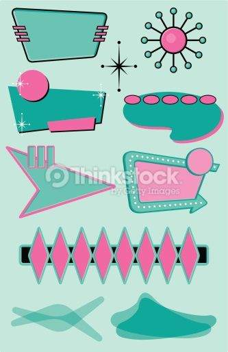 Mid Century Modern Music Google Search Retro Vector