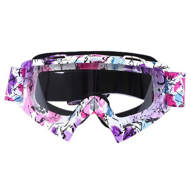 6547a61c5b2 oculos Motocross Goggles Ski Snow Skate Glasses Helmet MX Mask Eyewears Sun  Glasses Collapsible For Motorcycle Dirt Bike ATV MX