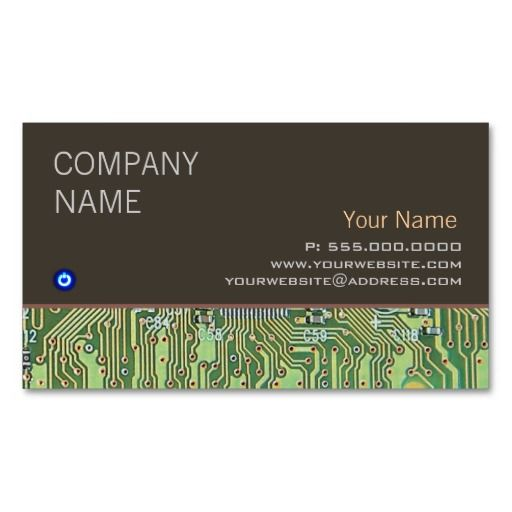 Computer repair business card business cards and card templates computer repair business card accmission Image collections