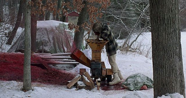 Fargo. You feeding your buddy into the wood chipper there ...