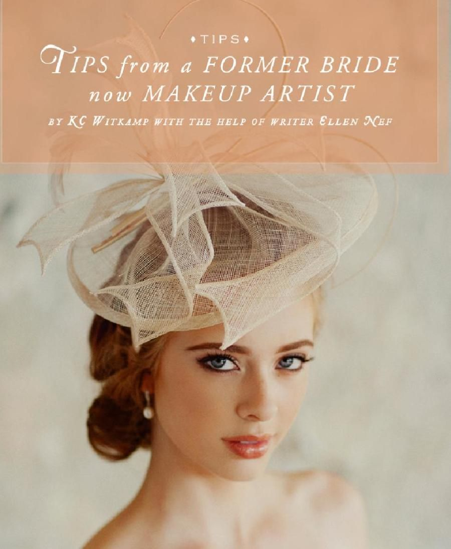 Tips from a former bride and makeup artist on how to choose your wedding makeup.