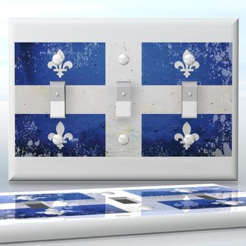 Diy do it yourself home decor easy to apply wall plate wraps diy do it yourself home decor easy to apply wall plate wraps quebec flag solutioingenieria Gallery